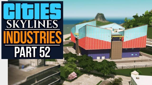 Cities: Skylines Industries | AQUARIUM (#52)