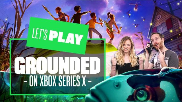 Let's Play Grounded on Xbox Series X - KOI POND? WATER LOAD OF BOTHER!