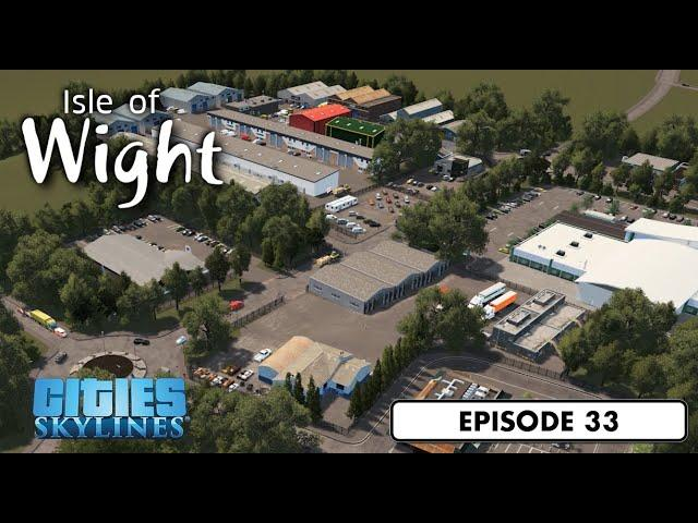 Growing the Industry - Cities: Skylines: Isle of Wight - 33