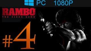Rambo The Video Game Walkthrough Part 4 [1080p HD] - No Commentary