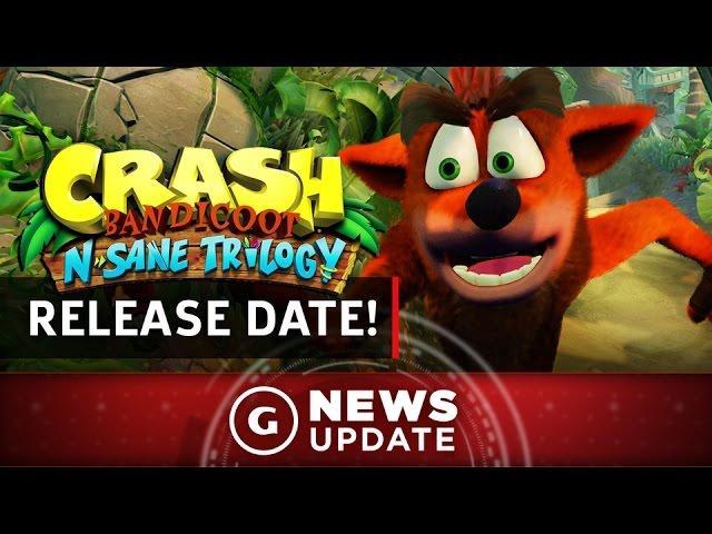 Release Date! Crash Bandicoot N Sane Trilogy PS4 Remaster - GS News Update