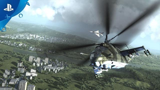 Air Missions: HIND - Gameplay Trailer | PS4