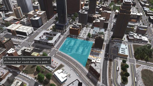 Cities: Skylines - Building a realistic US city [EP.14] - Small town, modern suburbs & offices