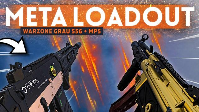 GRAU 556 + MP5 is the MOST EFFECTIVE Loadout in Warzone