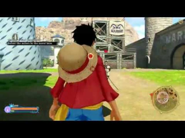ONE PIECE World Seeker Trainer +11