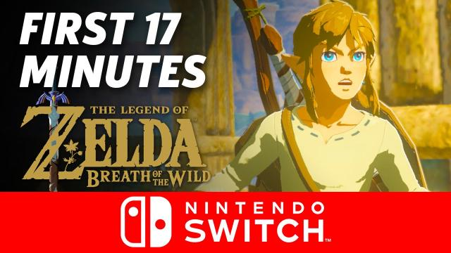 Zelda: Breath of the Wild - First 17 Minutes on Nintendo Switch