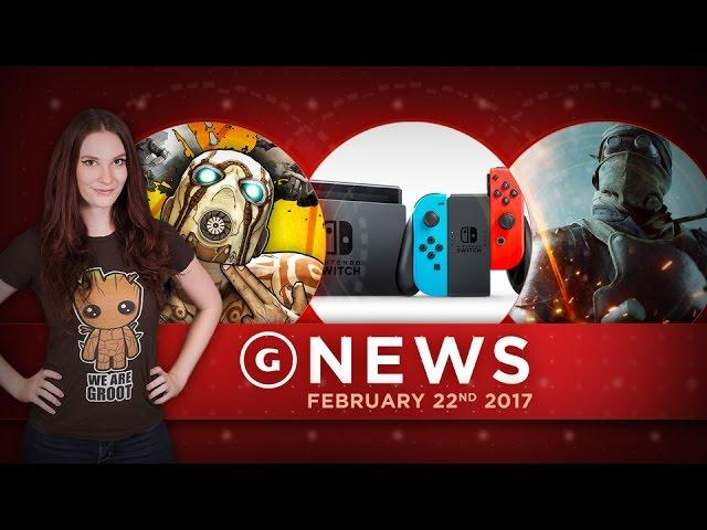 Battlefield 1 Gets New Guns & GameStop's Switch Stock Limited! - GS Daily News