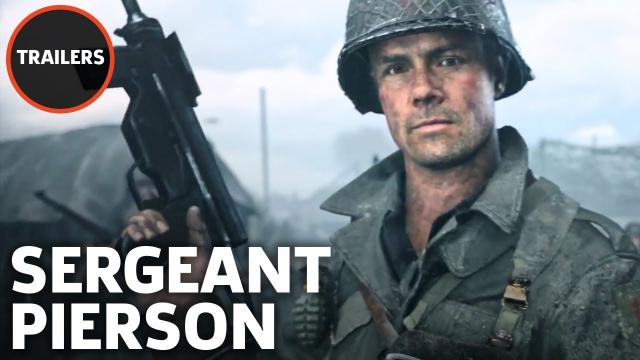 Call of Duty: WWII - Meet the Squad: Sergeant Pierson