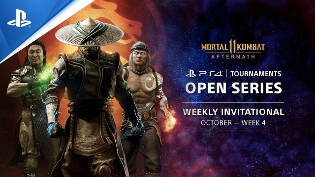 Mortal Kombat 11 Weekly Invitational EU : PS4 Tournaments Open Series