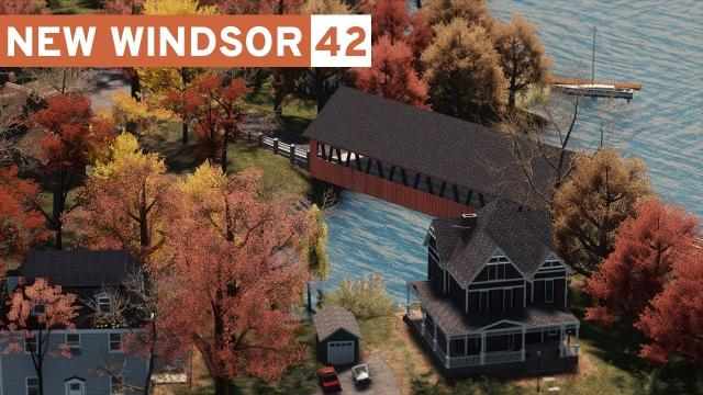 Lake Community (& Map Theme Release!) - Cities Skylines: New Windsor #42