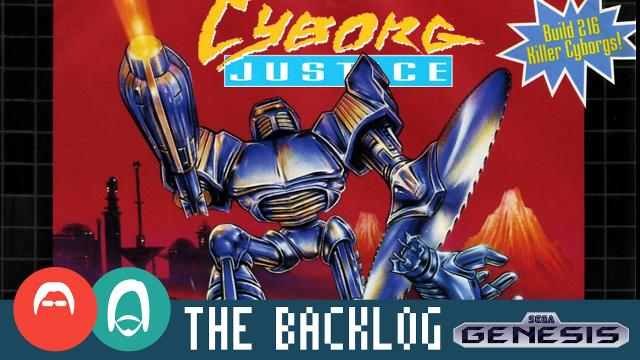Cyborg Justice (Genesis 1993) - WTF even - The Backlog