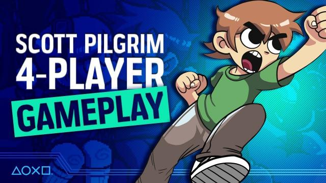 Scott Pilgrim Vs. PlayStation Access - 4 Player Action