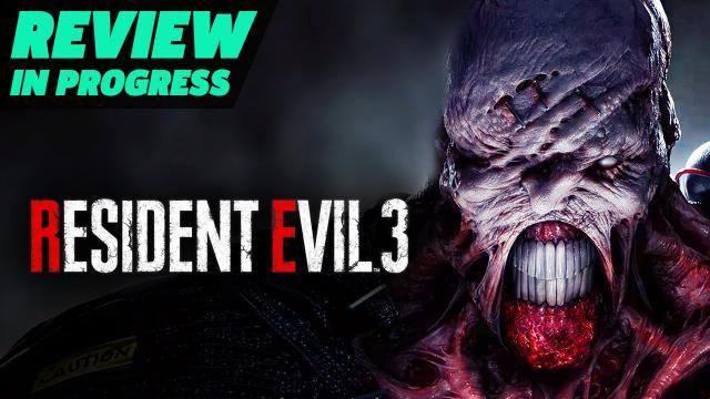Resident Evil 3 Remake Review In Progress