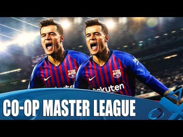 PES 2019 - New Co-Op Master League Season Begins