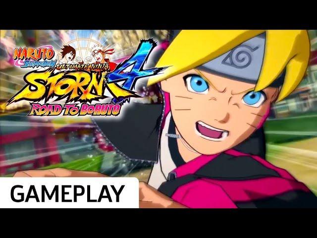 Boruto vs. Naruto - Naruto Shippuden: Ultimate Ninja Storm 4 - Road to Boruto Gameplay
