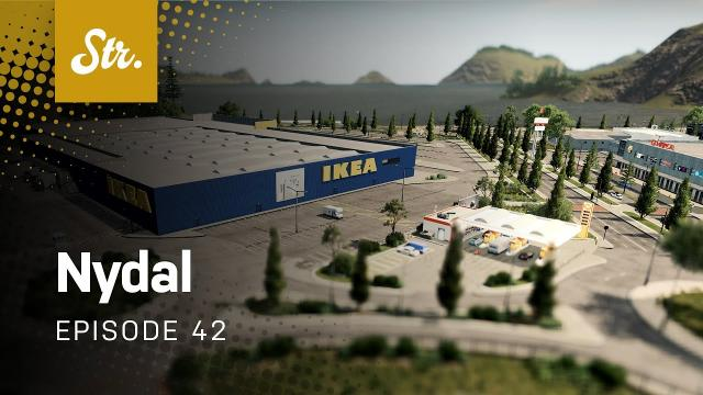 Commercial District (Part 2) — Cities Skylines: Nydal — EP 42