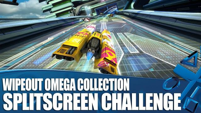 WipEout Omega Collection - Splitscreen Gameplay