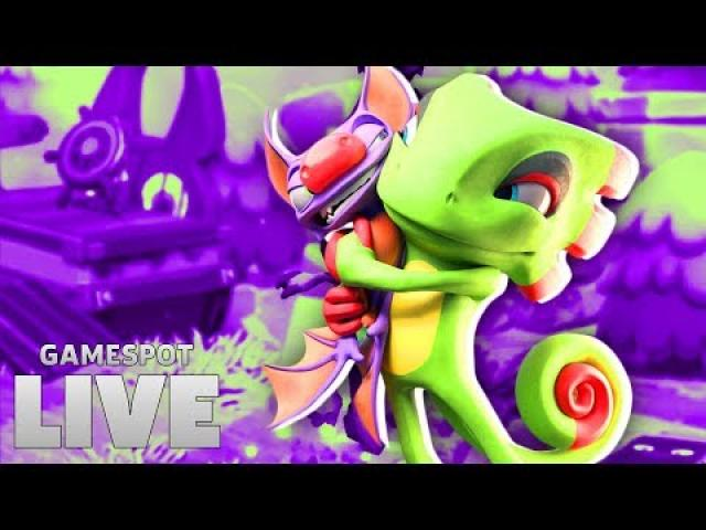 Yooka-Laylee and the Impossible Lair | GameSpot Live