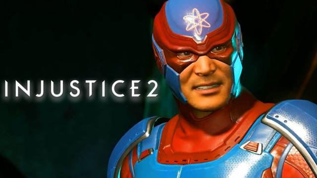Injustice 2 - Official Atom Gameplay Reveal Trailer