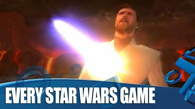 Every Star Wars Game On PlayStation