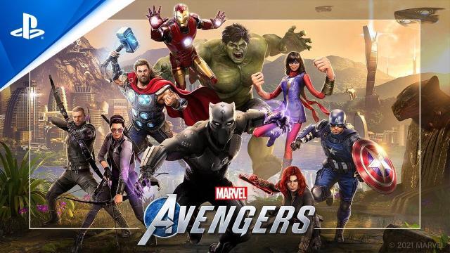 Marvel's Avengers - Content Assembled Trailer | PS5, PS4