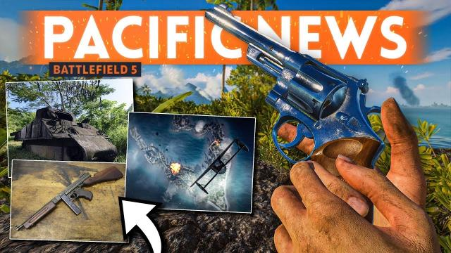 Battlefield 5 Pacific Update ???? Wake Island RELEASE DATE, 4th Pacific Map & M1A1 Thompson Rumor