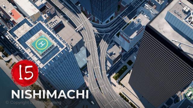 Nishimachi EP 15 - Minabashi JCT - Cities Skylines [4K]