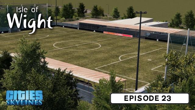 Football Ground - Cities: Skylines: Isle of Wight - 23