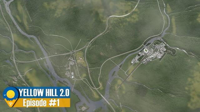 Cities Skylines 4K: Yellow Hill 2 - Land for sale in TERNAT | Looking for Investors EP.1 | Y:1