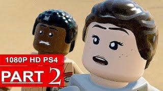 LEGO Star Wars The Force Awakens Gameplay Walkthrough Part 2 [1080p HD PS4] - No Commentary