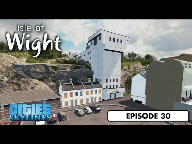Cliff top lift  - Cities: Skylines: Isle of Wight - 30