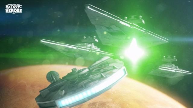 Star Wars: Galaxy of Heroes - New Legendary Event with Han's Millennium Falcon