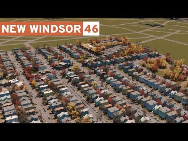 New Suburbs! - Cities Skylines: New Windsor #46