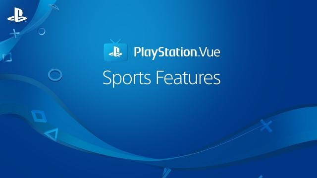 PlayStation Vue – Watching Live Sports