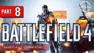 Battlefield 4 Walkthrough - Part 8 HEAVY WINDS - Let's Play Gameplay&Commentary BF4