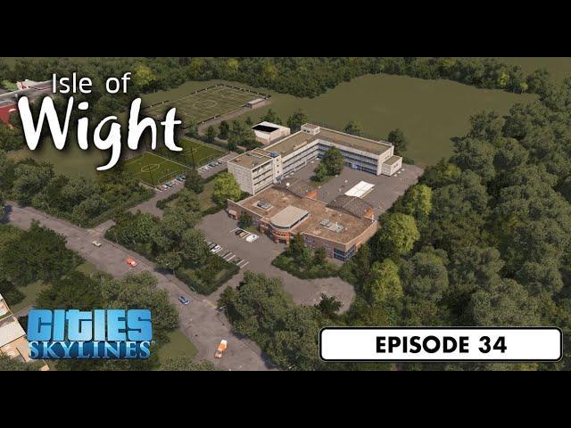 Modern School / College - Cities: Skylines: Isle of Wight - 34