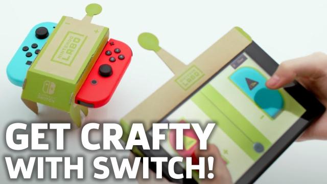 """Nintendo Labo is a Bizarre New DIY Game """"Experience"""" - GS News Update"""