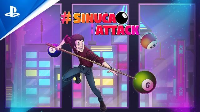#SinucaAttack - Launch Trailer | PS4