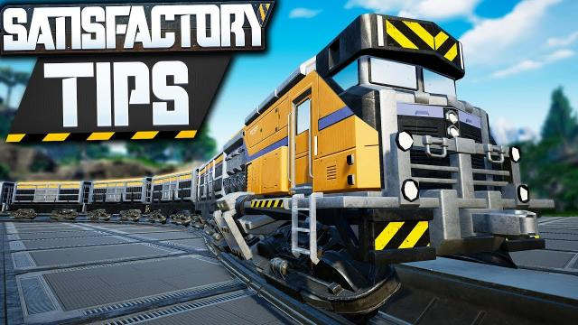 Satisfactory Train Tutorial, Tips, and Station Guide! - Satisfactory Tips