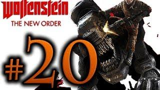 Wolfenstein The New Order Walkthrough Part 20 [1080p HD] - No Commentary