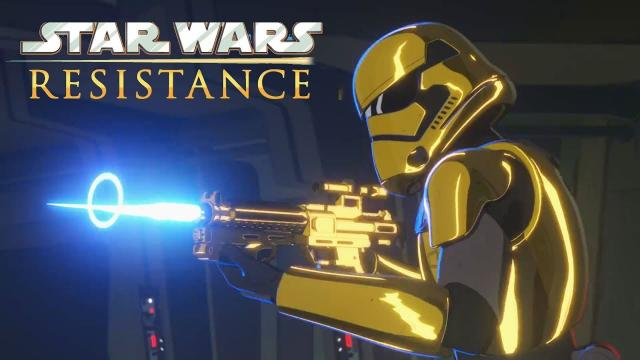 Star Wars Resistance Official Trailer and Premiere Date! New Animated TV Series!