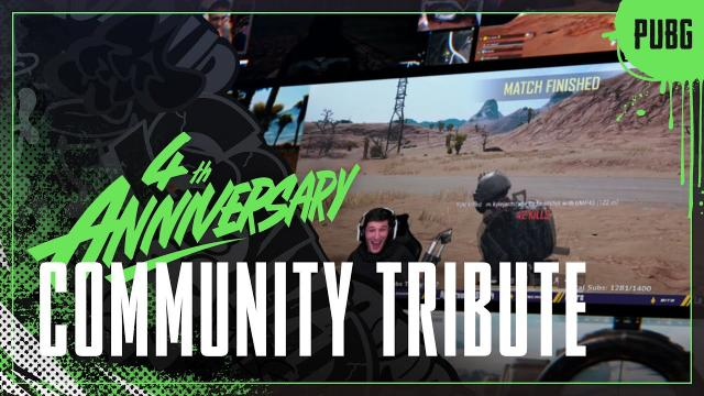 [4th Anniversary] To Our Community | PUBG