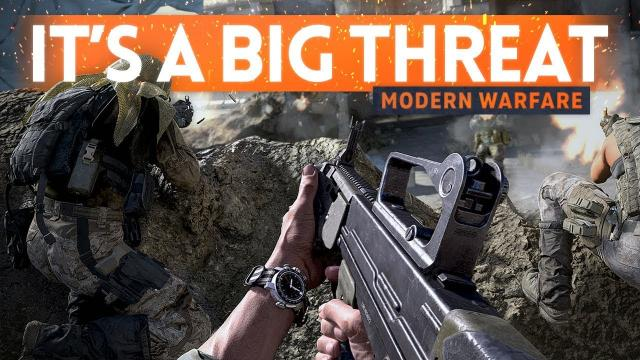 Modern Warfare Is A BIG THREAT To Battlefield 5 ???? (Beta Gameplay)