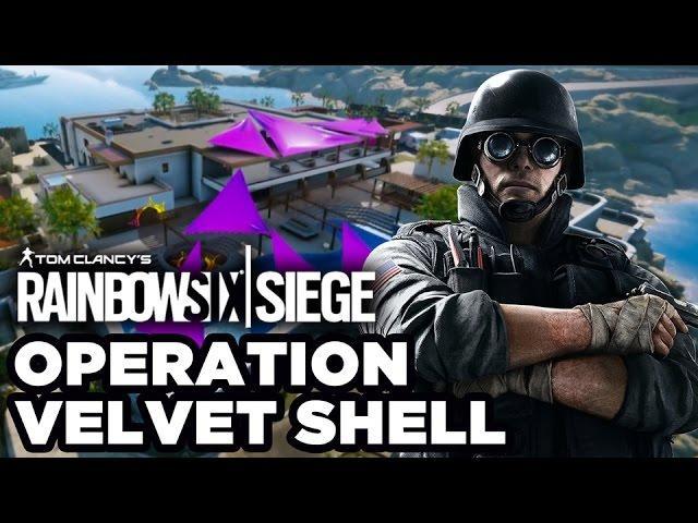 Tom Clancy's Rainbow Six Siege - Operation Velvet Shell Coastline Map Preview