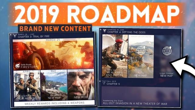 NEW 2019 ROADMAP UPDATED: Full Details! - Battlefield 5 (3+ New Maps, Modes & New Theatre of War!)