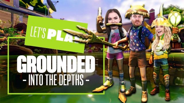 Let's Play Grounded on Xbox Series X - A BIG LOAD OF CARP!