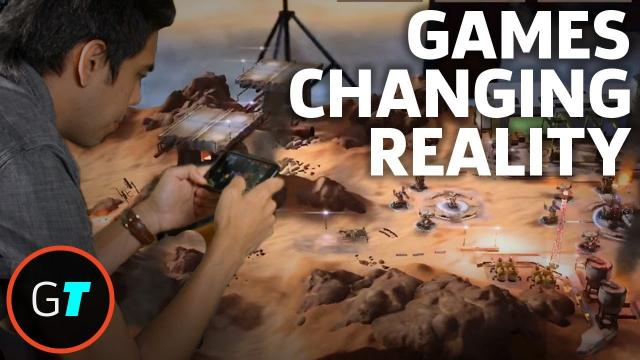 Augmented Reality Gaming On The New iPhone Platform