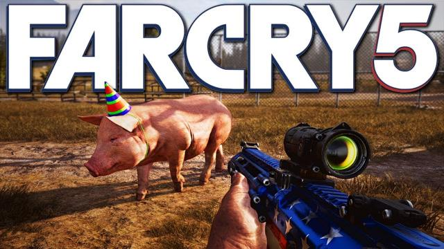 ► TESTICLE FESTIVAL! - Far Cry 5 New Gameplay (This Game is MENTAL!)