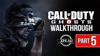 Call of Duty Ghosts Walkthrough - Part 5 FLOOD - Let's Play Gameplay&Commentary