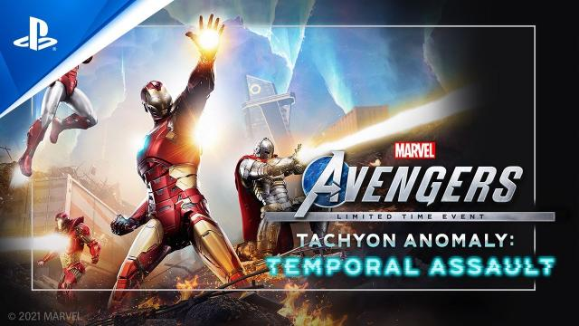 Marvel's Avengers - Tachyon Anomaly Event Trailer | PS5, PS4